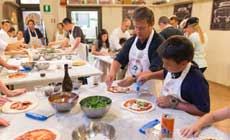 PIZZA & GELATO Making cooking class