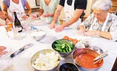 Tuscany Pizza and Gelato Cooking Class in Ancient Cellar